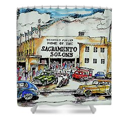 Sacramento Solons Shower Curtain