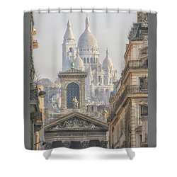 Sacre-coeur  Shower Curtain