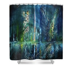 Sacred Dance Shower Curtain