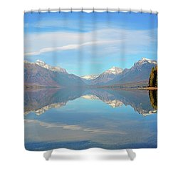Sacred Dancing Reflections Shower Curtain