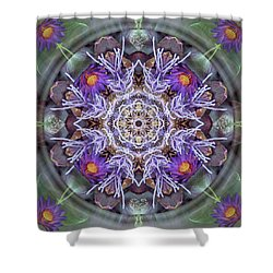 Sacred Emergence Shower Curtain