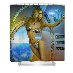 Sacred Feminine Shower Curtain