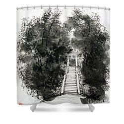 Sacred Gate  Shower Curtain