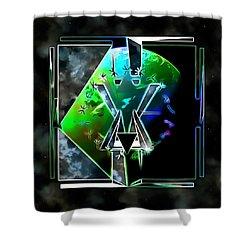Sacred Geometry 121 Shower Curtain