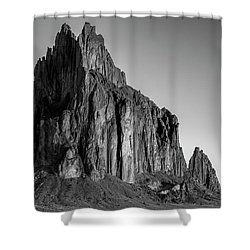 Shower Curtain featuring the photograph Sacred Glow II by Jon Glaser