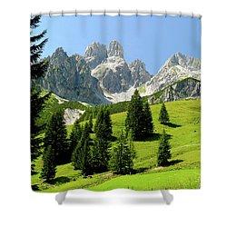 Sacred Land Shower Curtain