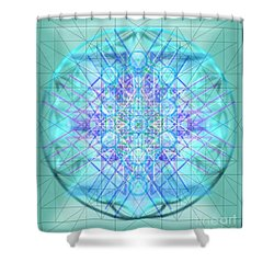 Sacred Symbols Out Of The Void 3b1 Shower Curtain