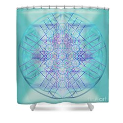 Sacred Symbols Out Of The Void A2b Shower Curtain