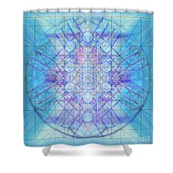 Sacred Symbols Out Of The Void A3c Shower Curtain