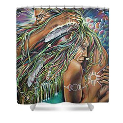 Sacred Union Shower Curtain