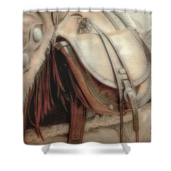 Saddle Bag Shower Curtain