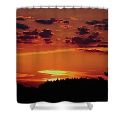 Sadie's Sunset Shower Curtain by Bruce Patrick Smith