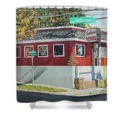 Sadlacks Restaurant Shower Curtain