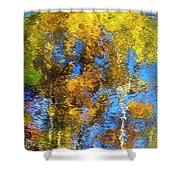 Safari Mosaic Abstract Art Shower Curtain by Christina Rollo