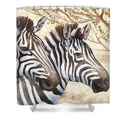 Safari Sunrise Shower Curtain