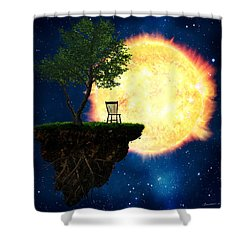 Safe Distance Shower Curtain