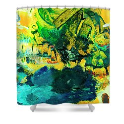 Safe Harbor #305 Shower Curtain by Donald k Hall