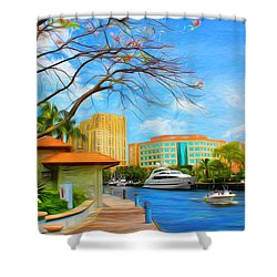 Safe Harbor Series 60 Shower Curtain