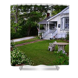 Safe Haven House Southport Shower Curtain