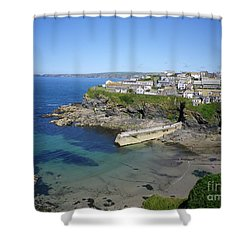 Safe Haven Shower Curtain by Richard Brookes