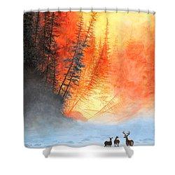 Safe Haven Shower Curtain