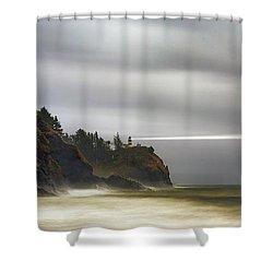 Safe  Passage Shower Curtain