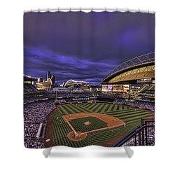 Safeco Field Shower Curtain by Dan McManus