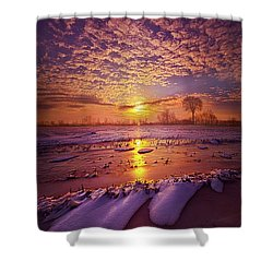 Shower Curtain featuring the photograph Safely Secluded In A Far Away Land by Phil Koch