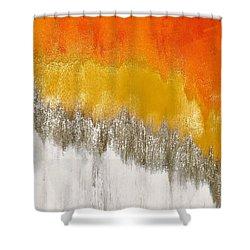 Saffron Sunrise Shower Curtain
