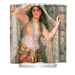Safie Shower Curtain by William Clark Wontner