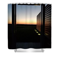 Shower Curtain featuring the photograph Sag Harbor Sunset 2 by Rob Hans