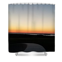 Shower Curtain featuring the photograph Sag Harbor Sunset 3 by Rob Hans