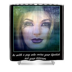 Sage Advice Shower Curtain by Irma BACKELANT GALLERIES