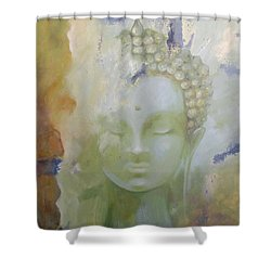 Sage Buddha Shower Curtain