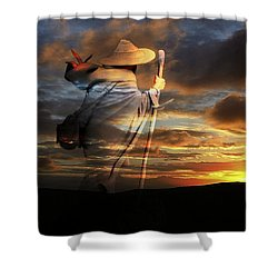 Sages Of The Universe Shower Curtain