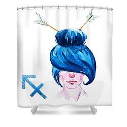 Sagittarius Shower Curtain