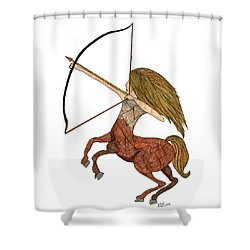 Sagittarius Shower Curtain