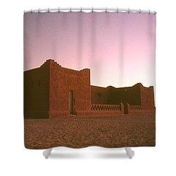Sahara House Shower Curtain by David Halperin