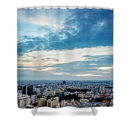 Sai Gon Afternoon Shower Curtain