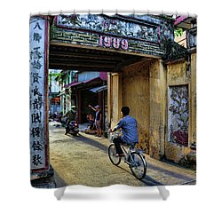Saigon History  Shower Curtain