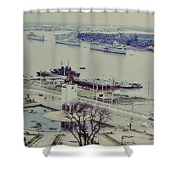 Saigon River, Vietnam 1968 Shower Curtain
