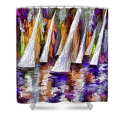 Sail Away Shower Curtain