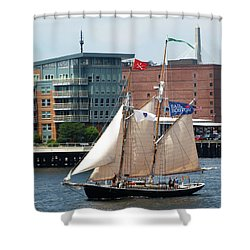 Sail Boston Shower Curtain
