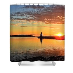 Sail Into The Sunrise Shower Curtain