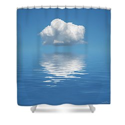 Sailing Away Shower Curtain by Jerry McElroy