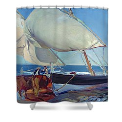 Sailing Boats Shower Curtain