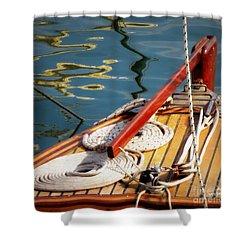 Sailing Dories 4 Shower Curtain
