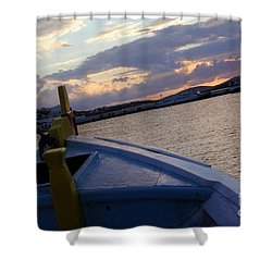 Shower Curtain featuring the photograph Sailing by Haleh Mahbod