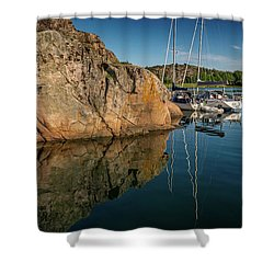 Sailing In Sweden Shower Curtain
