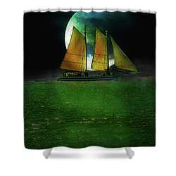 Sailing Safari  Shower Curtain